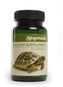 Komodo Calcium With Vitamins For Herbivores 135g