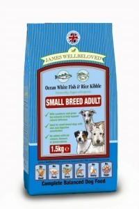 James Wellbeloved Small Bite Dog Food Fish 1.5 Kg
