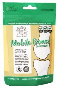 Pooch and Mutt Bionic Mobile Bones Cannine Joint Supplement 200g
