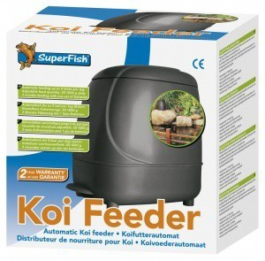 Superfish auto pond koi feeder from pet shopper for Koi auto feeder