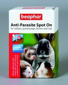 Beaphar Anti Parasite Spot on Ferret Rabbit Guinea Pig