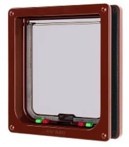 Large Cat Flap Brown Pet Mate