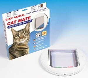 Glass Fitting Cat Flap Pet Mate