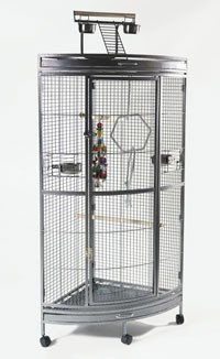 Corner Parrot Cage The Liberta Discovery Special Offer