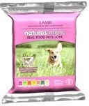 Natures Menu Frozen Raw Lamb and Veg Dog Food 300g