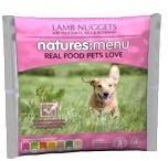 Natures Menu Lamb Nuggets Raw Dog Food 1 Kg