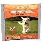 Natures Menu Beef Nuggets Raw Dog Food 1 Kg