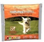 Natures Menu Beef Nuggets Raw Dog Food 1kg