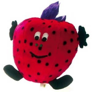 Suzy Strawberry by Pet Love Softees Dog Toy