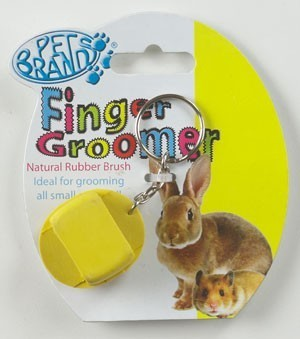 Finger Groomer on Keyring For Small Animals by Pet Brands