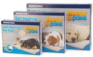 Self Heating Pet Pad Ancol Sleepy Paws Large 88x64cm