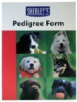 Sherleys Five Generation Pedigree Forms Pack of 10
