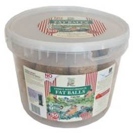 Walter Harrisons Fat Balls 50 Value Tub No Nets 90g