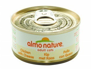 Almo Nature Cat Food Chicken and Cheese x 24