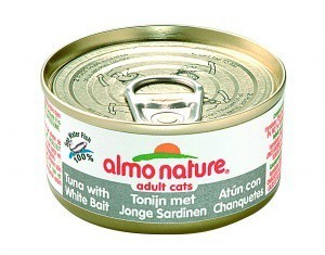 Almo Nature Cat Food Tuna and Whitebait 70g x 24