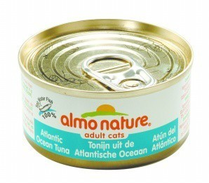Almo Nature Cat Food Atlantic Tuna 70gm x 24