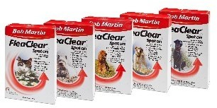 Bob Martin Flea Clear For Medium Dogs x 3