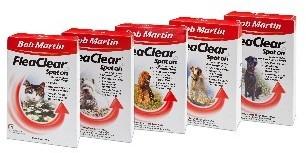 Bob Martin Flea Clear For Small Dogs x 3