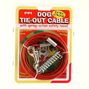 Dog Tie Out Cable 9m 30ft