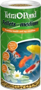 Tetra Pond Pellets Medium 1 Litre