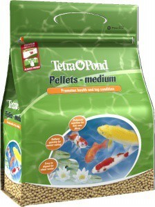 Tetra Pond Pellets Medium 7 Litre
