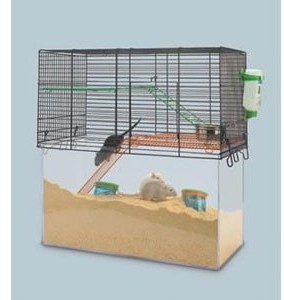 Savic Habitat Tank Cage for Gerbils