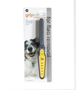 Jw Gripsoft Dog Flea Comb