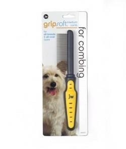 Jw Gripsoft Dog Comb Medium