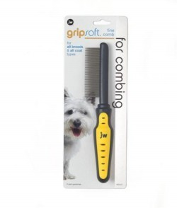 Jw Gripsoft Dog Comb Fine