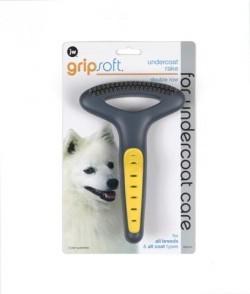 Jw Gripsoft Double Row Undercoat Dog Rake