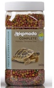 Komodo Tortoise Food Fruit Flower 340g