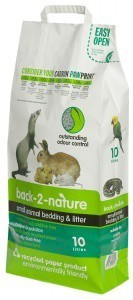 Back 2 Nature Small Animal Bedding and Litter 10 Litre