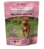 Natures Menu Puppy 8 X 300g Dog Food Pouches
