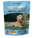 Natures Menu Senior 8 X 300g Dog Food Pouches