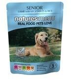 Natures Menu Senior 8 X 300g Dog Food Pouches