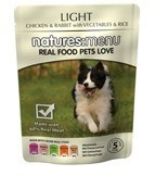 Natures Menu Light 8 X 300g Dog Food Pouches