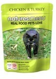 Natures Menu Cat Food Chicken and Turkey 100g Pouch