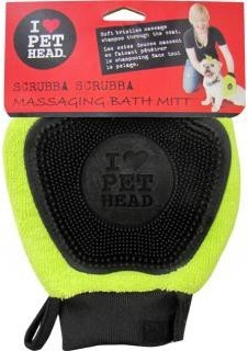 Pet Heads Scrubba Scrubba Massaging Bath Mitt