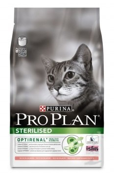 Pro Plan Adult Sterilised Salmon Cat Food 3Kg