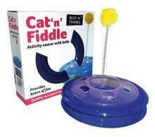 Cat 'n' Fiddle Deluxe Roundabout Cat Toy