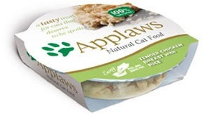 Applaws Cat Food Tender Chicken Breast With Rice Pot 60g x 10