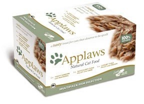 Applaws Cat Food Fish Selection Pot Pack (8 Pack ) 60g