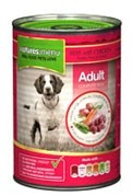 Natures Menu Dog Food Beef and Chicken 12 X 400g Cans