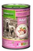 Natures Menu Dog Food Lamb and Chicken 12 X 400g Cans