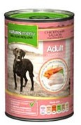 Natures Menu Dog Food Chicken and Salmon 12 X 400g Cans