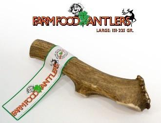 Farm Food Antlers Dog Treat Large