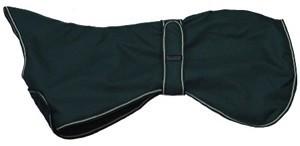Outhwaite Greyhound Coat Padded Lining Navy 65cm
