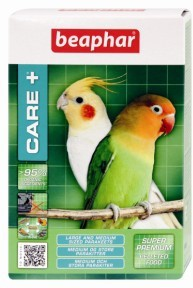 Beaphar Care + Super Premium Pelleted Food for Medium/large Parakeets 500g