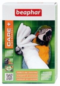 Beaphar Care + High Energy Pelleted Food for Parrots and Cockatoos 1kg