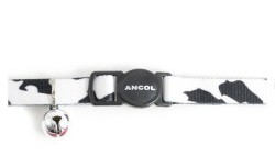 Ancol Cat Collar Camouflage Black/White